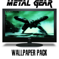 Metal Gear Wallpaper Pack by xGameGuy360x