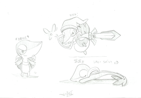 Snivy :D by AndrewZs
