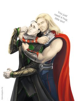 The Avengers - Thor x Loki by maXKennedy