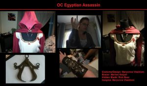 Egyptian Assassin OC by MaryMODIFIED