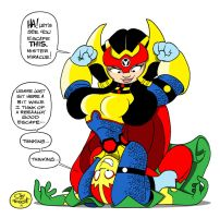 BIG BARDA AND MISTER MIRACLE by JayFosgitt