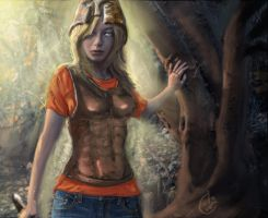 Speedpainting - Annabeth Chase by IRCSS