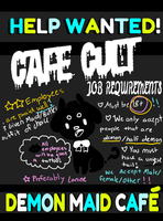 Cult Cafe-Promotional Poster by crowmap