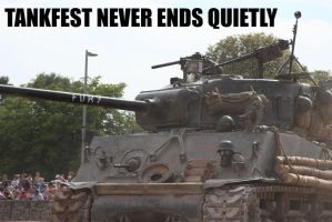 TankFest Never Ends Quietly by DavidKrigbaum
