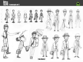 A Day in the Life - Joe Avery concepts by RudolphEurich