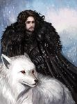 Jon Snow by TheLivingShadow