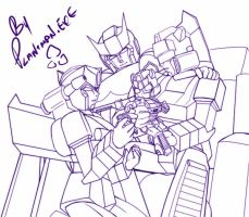 TF Commission - PxJ Family WIP by plantman-exe