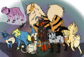 Canine Pokemon