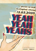 Yeah Yeah Yeahs Poster by Lexaria