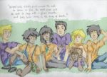 Seven Half-bloods by chinesedemigod