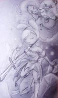 Fionna Vs the Ice Queen by hollarity