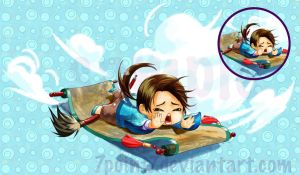 aph hetalia china chibi by 7point7