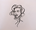 marilyn monroe comission 2 by mrgonzz