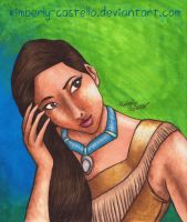 Disney:  Pocahontas by kimberly-castello