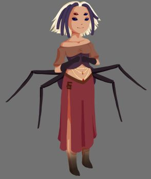 Aranea the Spider Lady~ by DreadedRay