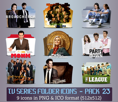 TV Series - Icon Pack 23 by apollojr