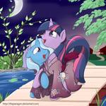 Commission: Blooming Night by TheParagon