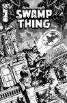 Swampthing cover 15, B/W by YanickPaquette