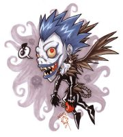 Death Note-Shinigami Ryuk by atg