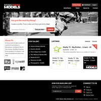 Talent Site - Mock by nudoo