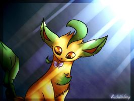 Leafeon by RachelTheFurry