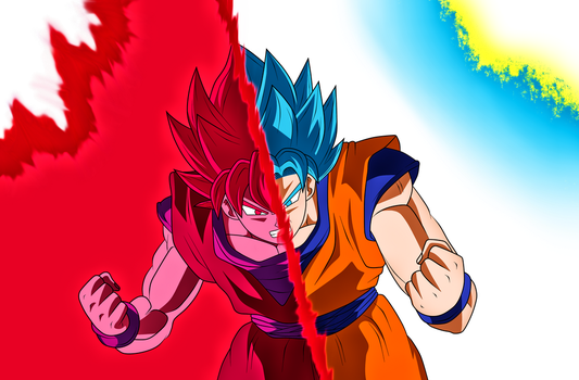 Goku New transformation V.2 by Luciano160