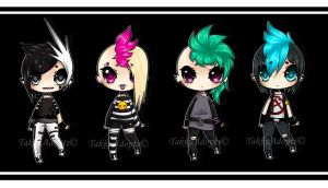 punk adopts (closed) by TakkuAdopts