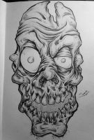 Uninspired Zombie by Jimmy-Faceless