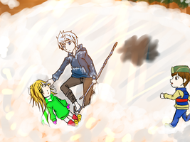 Jack save Sophina by aerith31