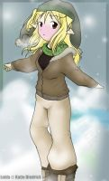 Snow Wolf by mewgal