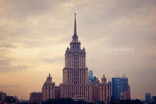 Moscow evening by redhead-summer