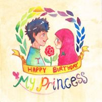 Friend's Request : HBD My Princess by pOy95