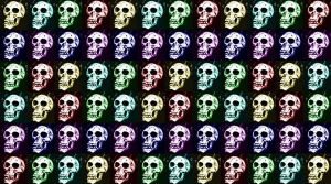 skulls by bloodpudding