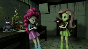 The Job At Freddy S Horror Attraction MLP by ConfusedKiller