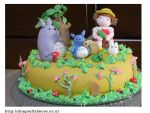 Totoro Cake by dragonflydoces