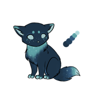 Nighttime Custom Kitty by Xecax