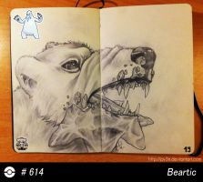 614 - Beartic by Py3rr