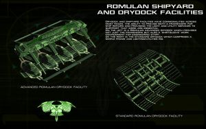 Romulan Drydocks by unusualsuspex