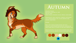 Autumn ref 2011 by AutumnPup