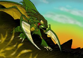 Morning Sun Scyther by KATHYxx