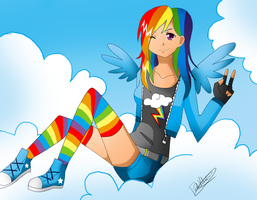 Rainbow Dash by Nasuki100