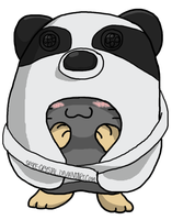 I'm a Panda, REALLY by Space-Crystal