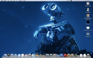 WALL-E Mac Desktop by JDWRudy25