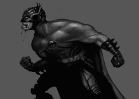 Batman by ARTofANT