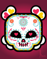 Mexican Skull by hitomi--i