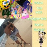 Pack de 100 imagenes by kittymoon23