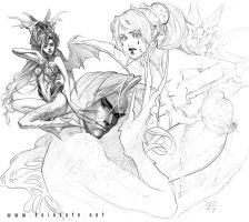 Sketches 01 - Horrifica by MichelleHoefener