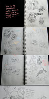 Tuler's sketchbook - Beginning of 2012 by super-tuler