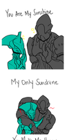 You Are My Sunshine, Kratos by Static-Thing
