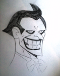 The Joker, Bruce Timm-Style Portrait by OriginalMiles